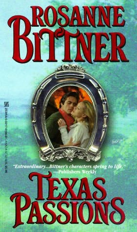 book cover of Texas Passions