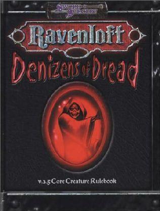 book cover of Denizens of Dread