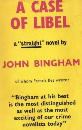 book cover of A Case of Libel