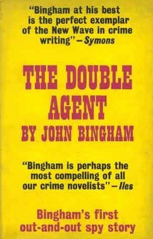 book cover of The Double Agent