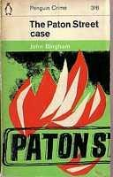 book cover of The Paton Street case