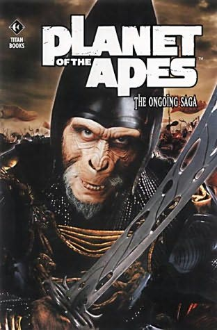 book cover of Planet of the Apes the Ongoing Saga Volume 1: Old Gods