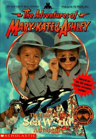 book cover of The Case of the Sea World Adventure