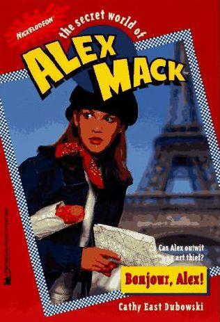 book cover of Bonjour, Alex!
