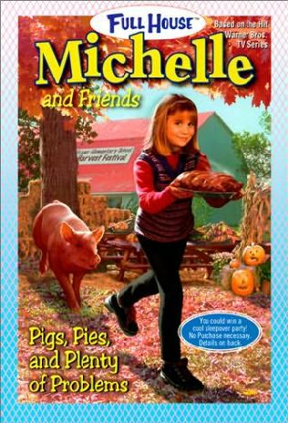 book cover of Pigs, Pies, and Plenty of Problems