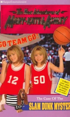 book cover of The Case of the Slam Dunk Mystery