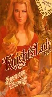book cover of Knight\'s Lady