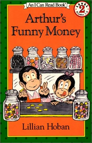 book cover of Arthur\'s Funny Money