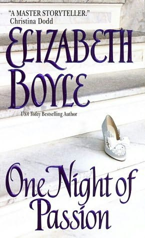 book cover of One Night of Passion
