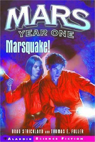 book cover of Marsquake!