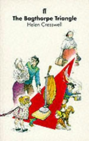 book cover of The Bagthorpe Triangle