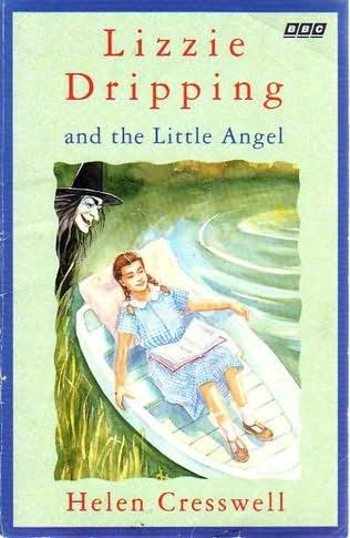 book cover of Lizzie Dripping and the Little Angel