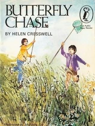 book cover of Butterfly Chase