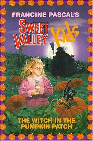 Book cover of the witch in the pumpkin patch