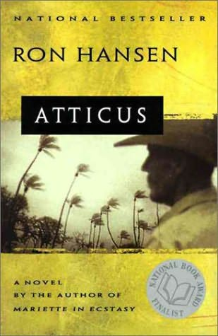 """an essay on ron hansens atticus I'm almost finished reading ron hansen's superb new  ron hansen: """"writing is a ministry""""  the author is widely respected for his fiction and essays despite going against the grain in ."""