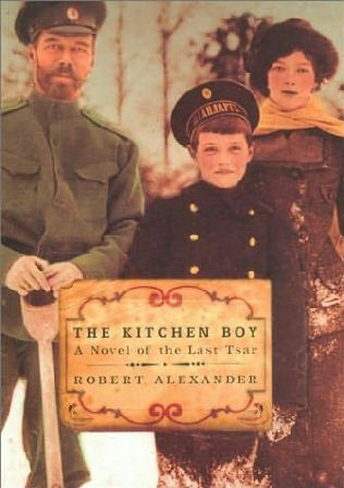 book cover of The Kitchen Boy