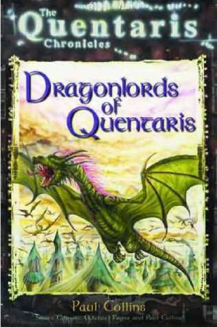 book cover of Dragonlords of Quentaris