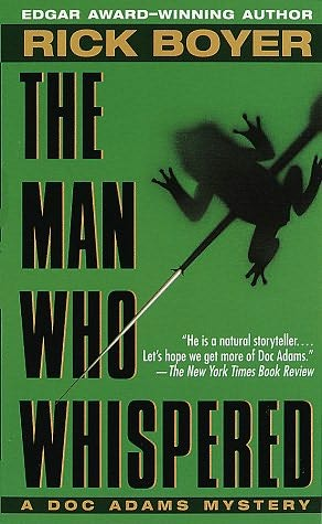 book cover of The Man Who Whispered