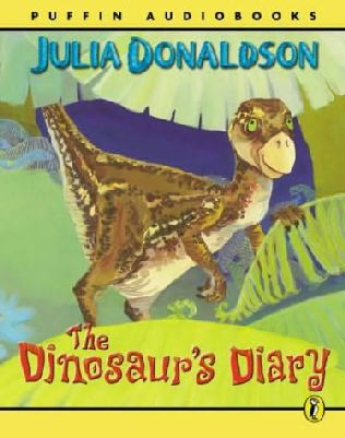 book cover of The Dinosaur\'s Diary