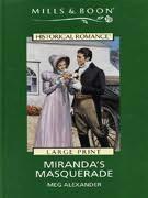 book cover of Miranda\'s Masquerade