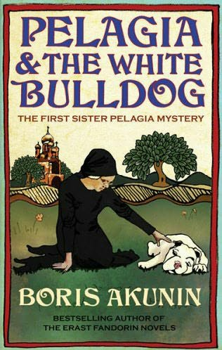 book cover of Pelagia and the White Bulldog