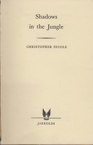 book cover of Shadows in the Jungle