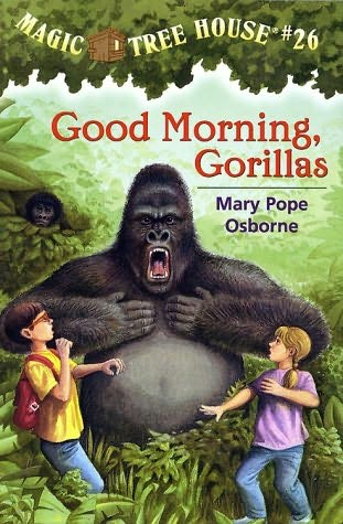 book cover of Good Morning, Gorillas