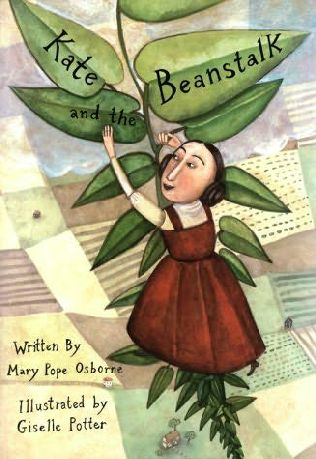 book cover of Kate and the Beanstalk