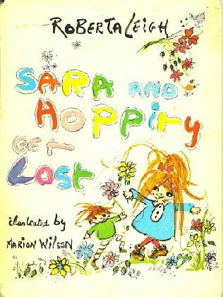 book cover of Sara and Hoppity Get Lost