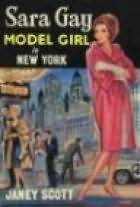 book cover of Model Girl in New York