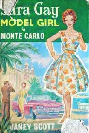 book cover of Model Girl in Monte Carlo