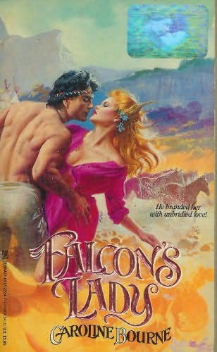 book cover of Falcon\'s Lady