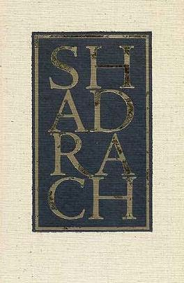 book cover of Shadrach