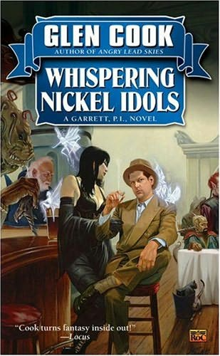 book cover of Whispering Nickel Idols