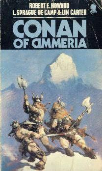 book cover of Conan of Cimmeria