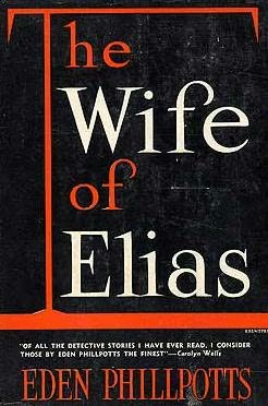book cover of The Wife of Elias