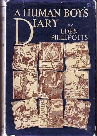 book cover of A Human Boy\'s Diary