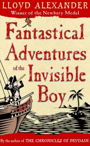 book cover of Fantastical Adventures of the Invisible Boy