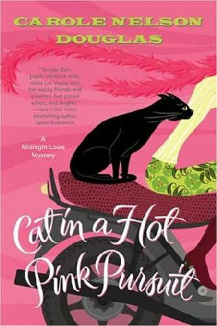 book cover of Cat in a Hot Pink Pursuit