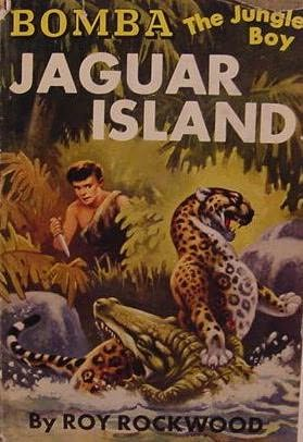 book cover of Jaguar Island