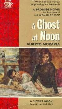book cover of A Ghost At Noon