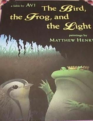 book cover of The Bird, the Frog, and the Light