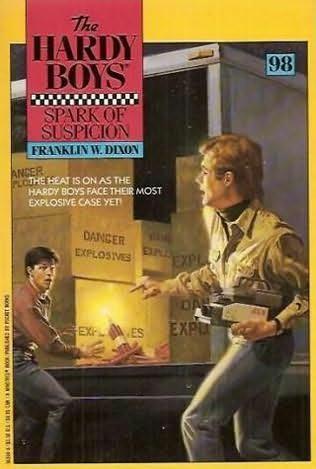 book cover of Spark of Suspicion