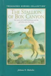 book cover of The Stallion of Box Canyon