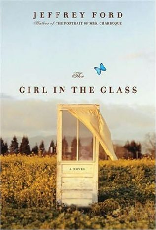 book cover of The Girl in the Glass