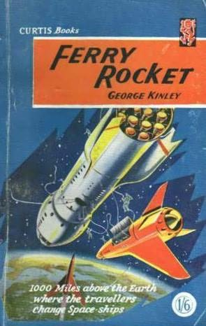 book cover of Ferry Rocket