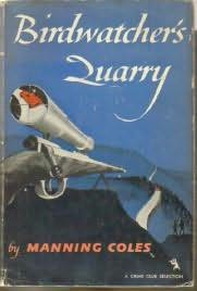 book cover of Birdwatcher\'s Quarry