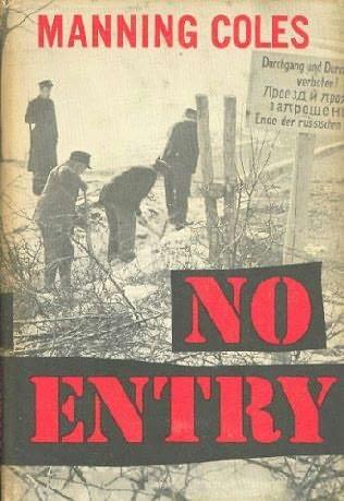 book cover of No Entry
