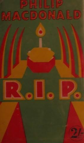 book cover of R.I.P.