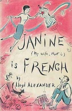 book cover of Janine is French